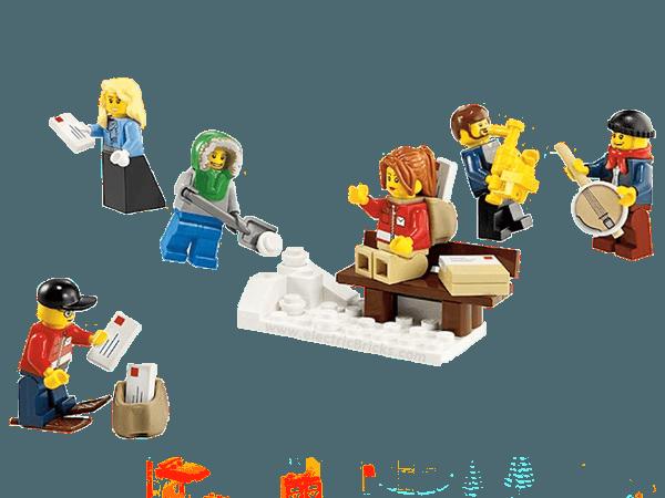 Lego 10222 oficina de correos en navidad for Oficina de correos en