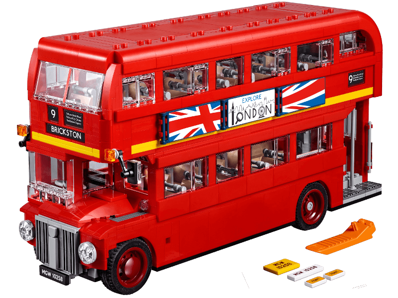 LEGO-10258-Creator Expert-London Bus
