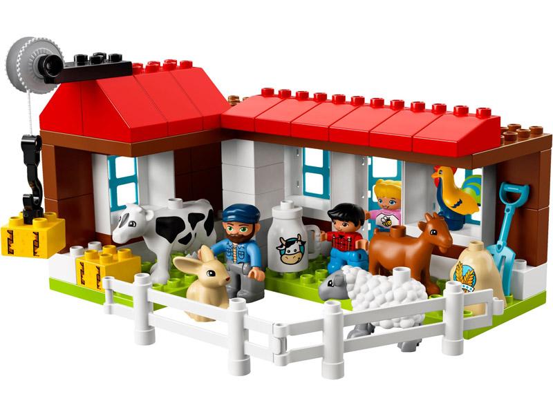 Animales De Granja Lego Nuevo Lego 10870