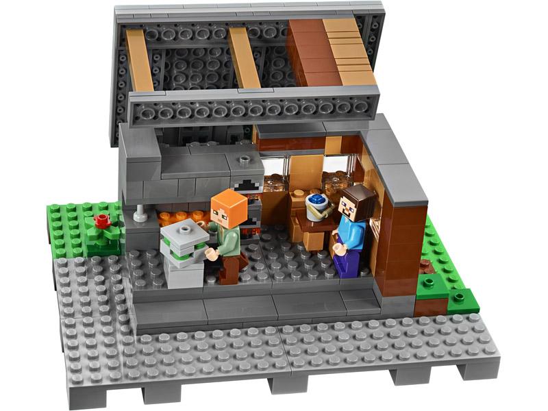 Lego 6135649 21128 1 Minecraft La Aldea