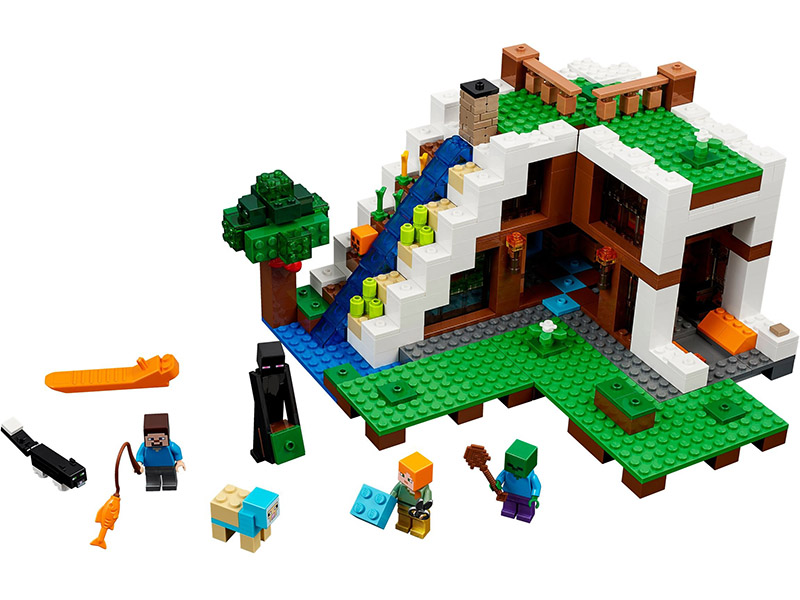 LEGO 6174359 21134-1 Minecraft Base de la cascada