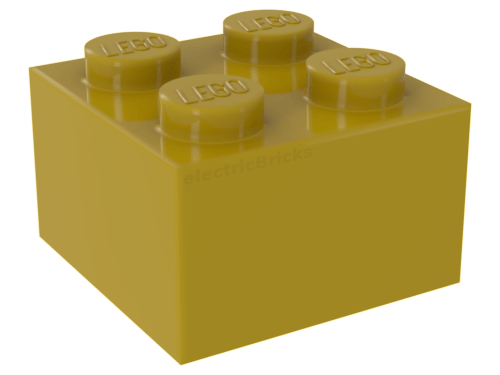 Lego 4 Yellow 1x3 brick block NEW