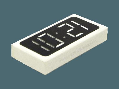 Lego Decorado-Azulejo 1x2 con dinamita patrón X 3 3069bp03 I57