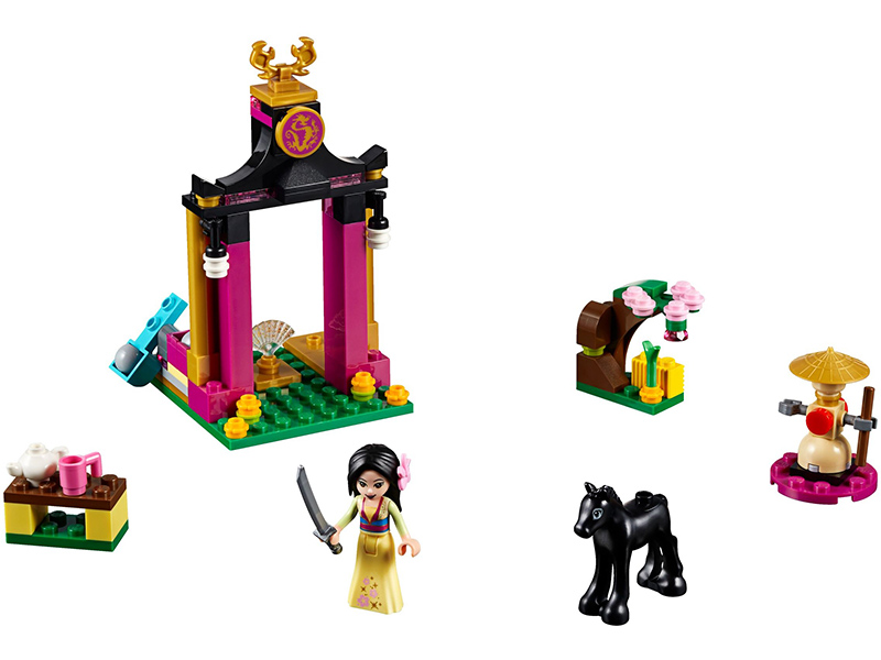 LEGO-41151-Disney Princess-Mulan's Training Day