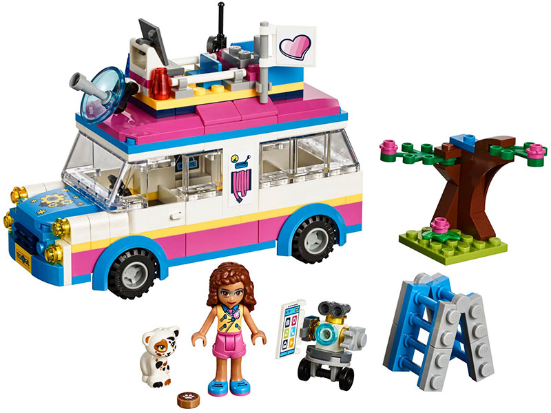 LEGO-41333-Friends-Olivia's Mission Vehicle