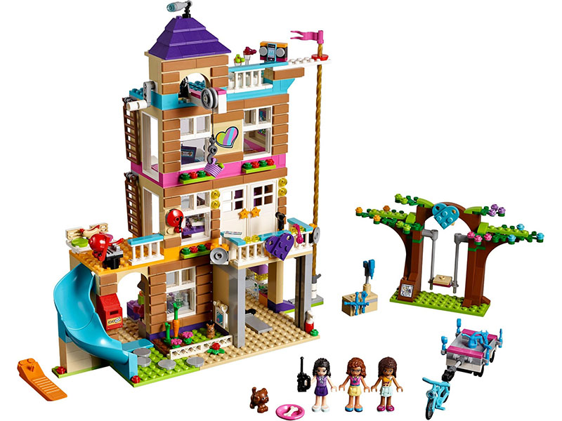 LEGO-41340-Friends-Friendship House