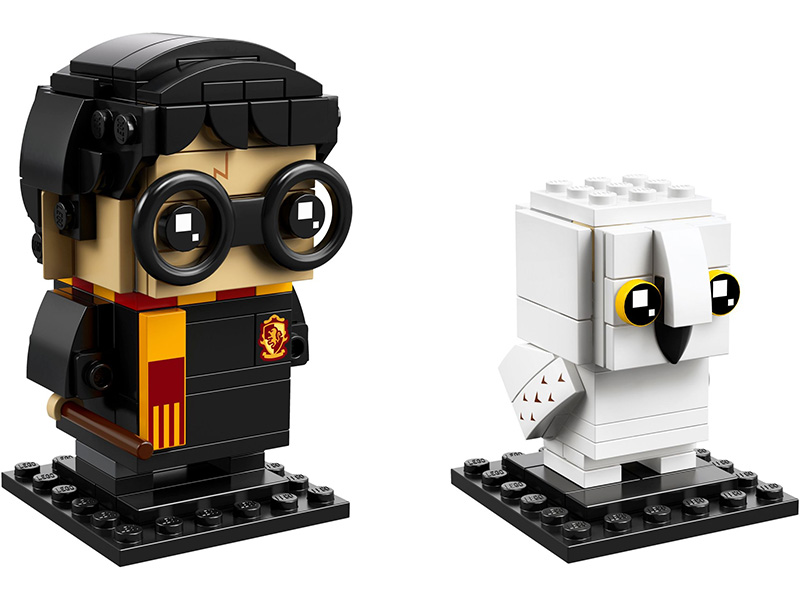 LEGO-41615-BrickHeadz-Harry Potter™ y Hedwig™
