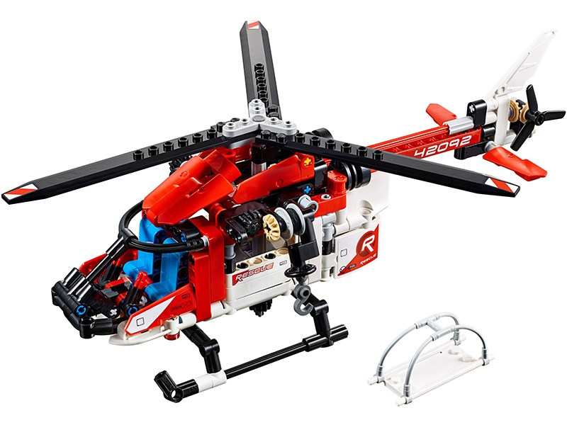 LEGO-42092-Technic-Rescue Helicopter