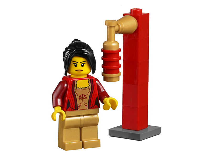 LEGO-45022-14-Other-Minifigure 45022-14 Oriental Girl