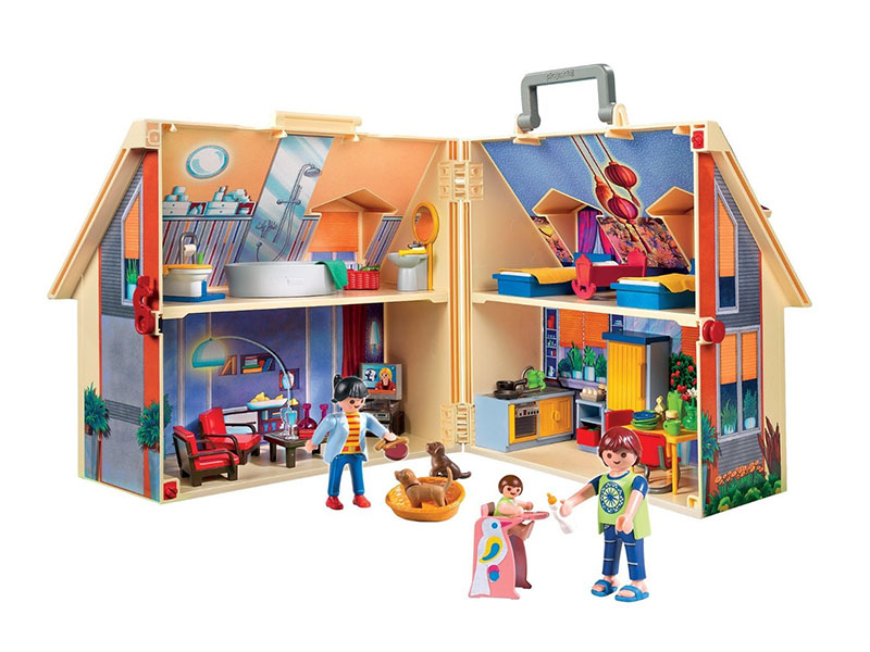 PLAYMOBIL-5167-Dollhouse-Take Along Modern Doll House