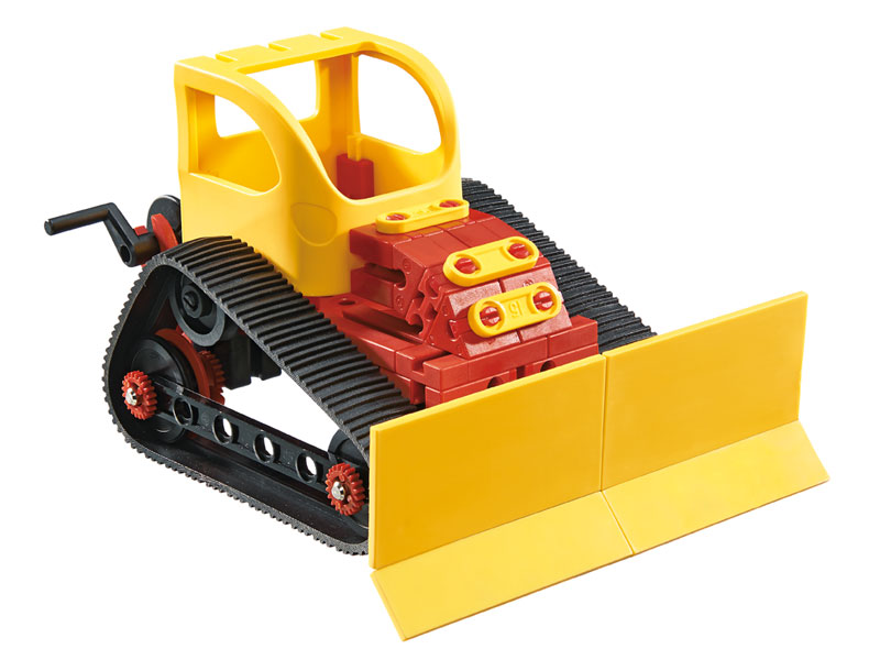 Fischertechnik-520395-Advanced-Bulldozer