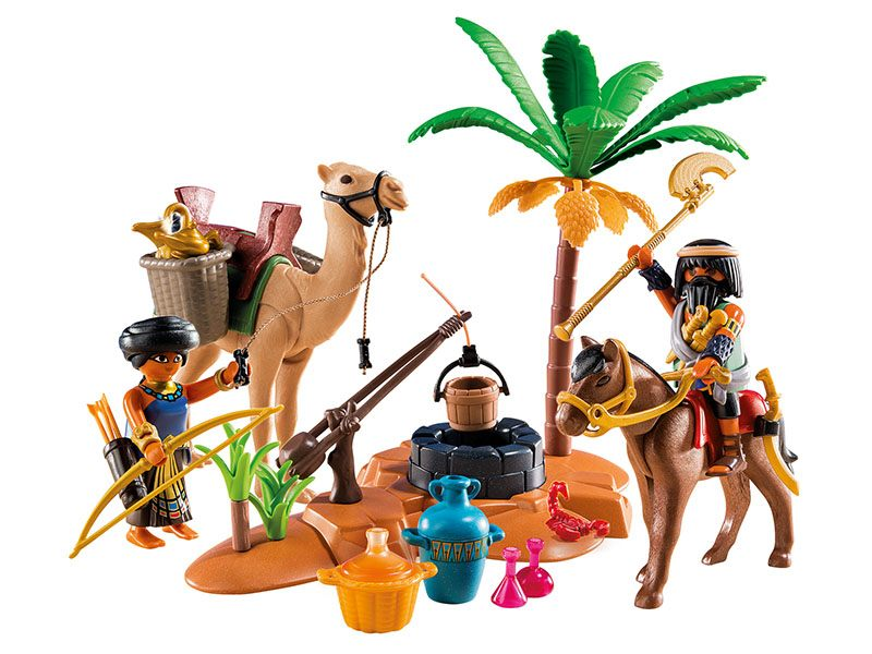 PLAYMOBIL-5387-HISTORY-Tomb Raiders' Camp
