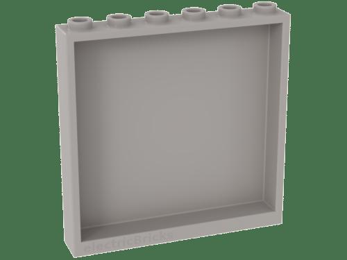 6 ladrillos Lego Panel Blanco 1x2x2 soportes laterales diseño hueco postes 4585458 87552