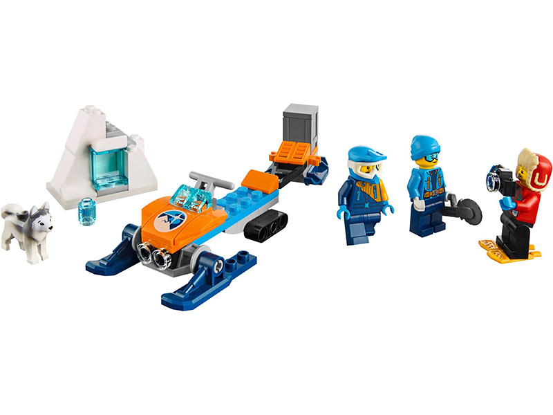 LEGO-60191-City-Arctic Exploration Team