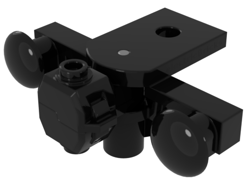 Lego City ferrocarril Train pieza escalera negro