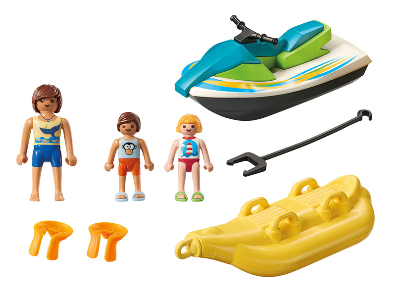 PLAYMOBIL-6980-Family Fun-Personal Watercraft with Banana Boat