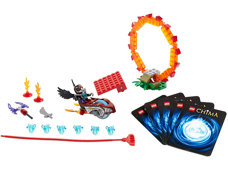 LEGO-70100-Legends of Chima-Ring of Fire
