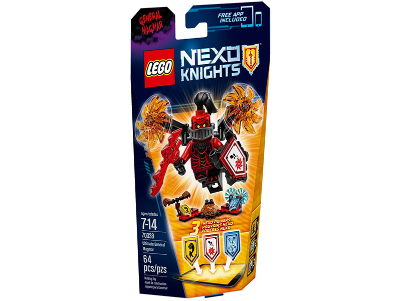 LEGO NEXO KNIGHTS - 70338 - General Magmar ULTIMATE