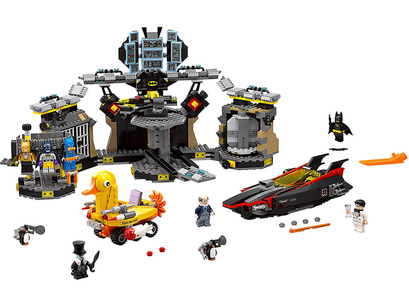 LEGO-70909-The Batman Movie-Batcave Break-in