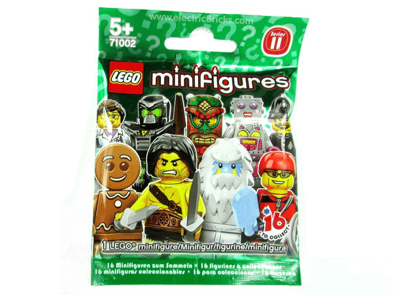LEGO-71002-Suprise Packets-Minifigure Series 11