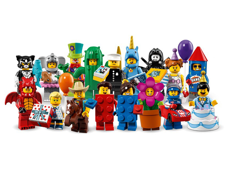 LEGO-71021-17-Complete Series-All the collection Minifigures Series 18