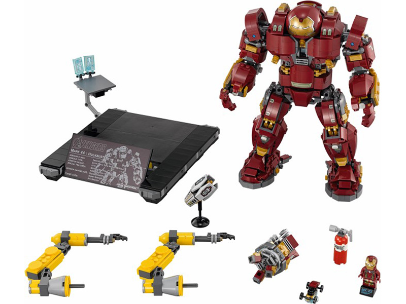 LEGO-76105-Marvel Super Heroes-The Hulkbuster: Ultron Edition