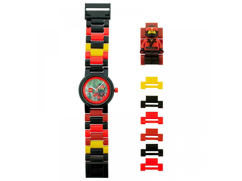 ClicTime-8021117-Gear-LEGO The Ninjago Movie Kai Minifigure link watch
