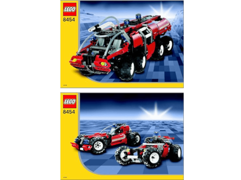LEGO-8454-1_i-Instructions-Original Instructions for Set 8454 - Rescue Truck