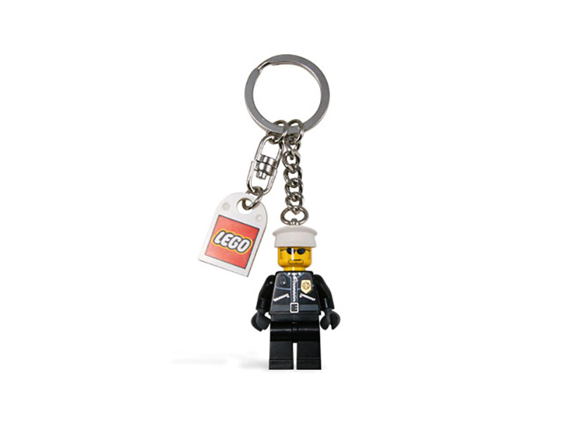 LEGO-851626-Gear-Police officer Key Chain