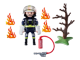PLAYMOBIL-9093-SPECIAL PLUS-Firefighter with Tree