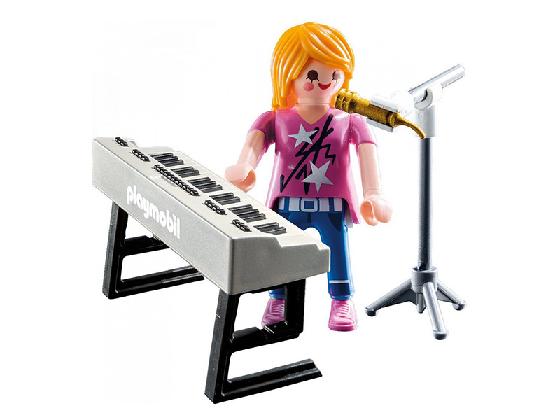 PLAYMOBIL-9095-SPECIAL PLUS-Singer with Keyboard