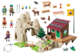 PLAYMOBIL-9126-ACTION-Rock Climbers with Cabin