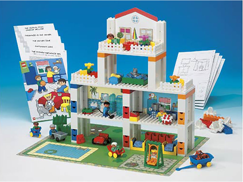 LEGO Education-9130-Creative Building-Around-the-House Set