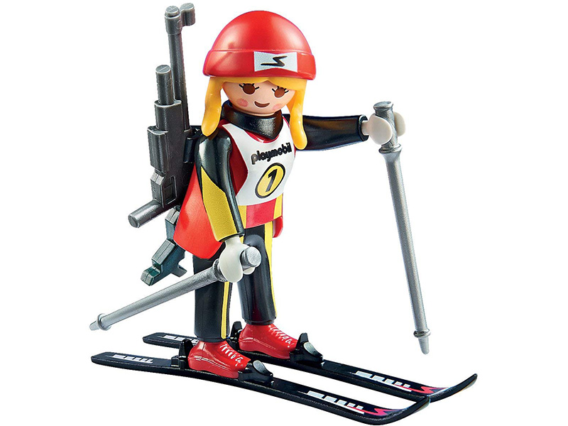 PLAYMOBIL-9287-Family Fun-Female Biathlete