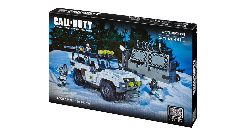 Mega Bloks-CYR72-Call Of Duty-Arctic Invasion