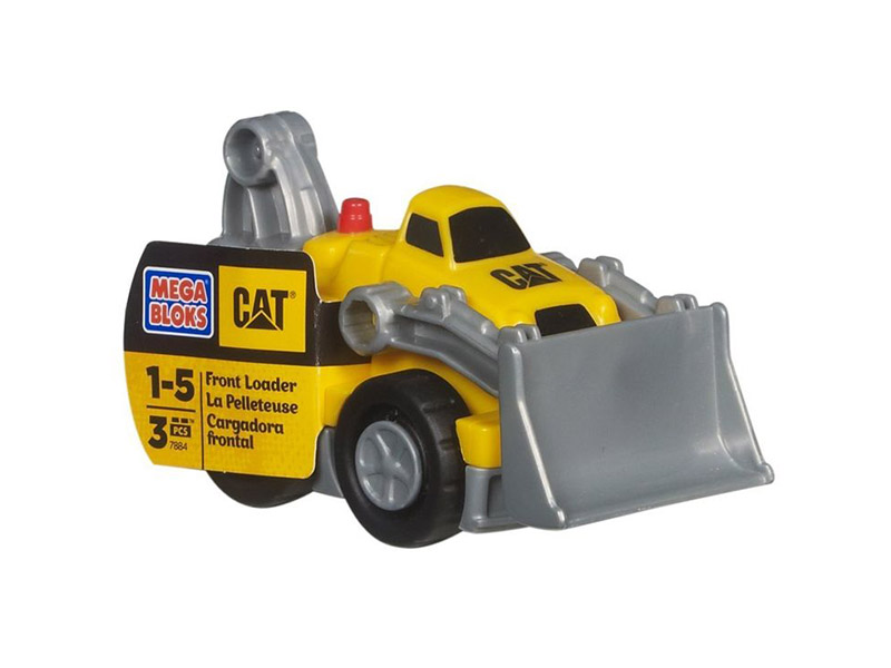 Mega Bloks-DCJ80-Basics-Fisher Price CAT Cars
