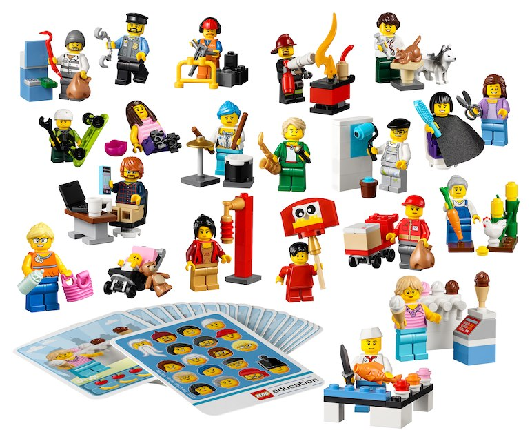 LEGO Education-45022-System-Minifiguras de la comunidad - LEGO Education