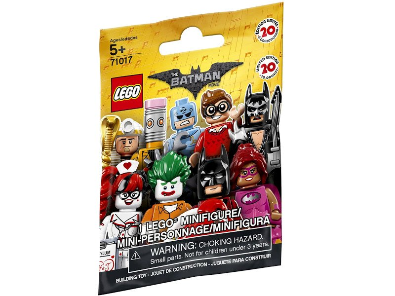 LEGO-71017-0-Suprise Packets-Minifigure THE LEGO® BATMAN MOVIE  1