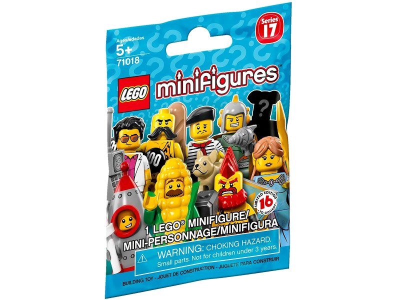 LEGO-71018-Suprise Packets-Minifigure Series 17