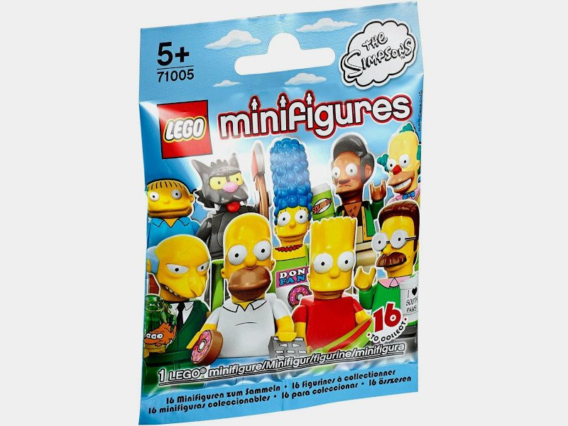 LEGO-71005-Suprise Packets-Minifigure The Simpsons series 1