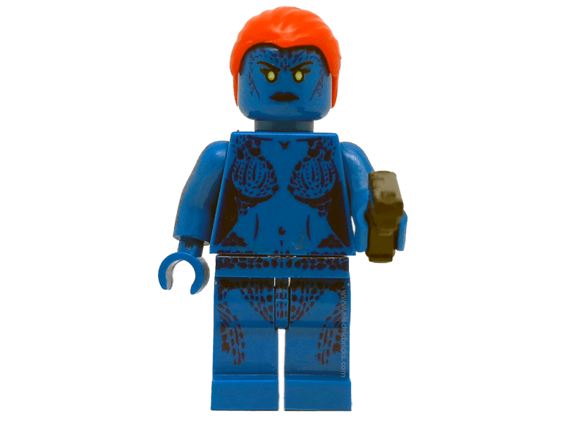 Compatible-mfwSHMistica-Superheroes-Minifig World Superhero Mystique