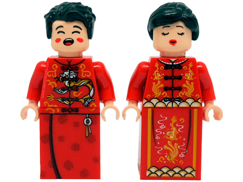 Compatible-pardenochi-Community-Bride and groom China