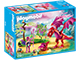 PLAYMOBIL-9134-Fairies-Friendly Dragon with Baby