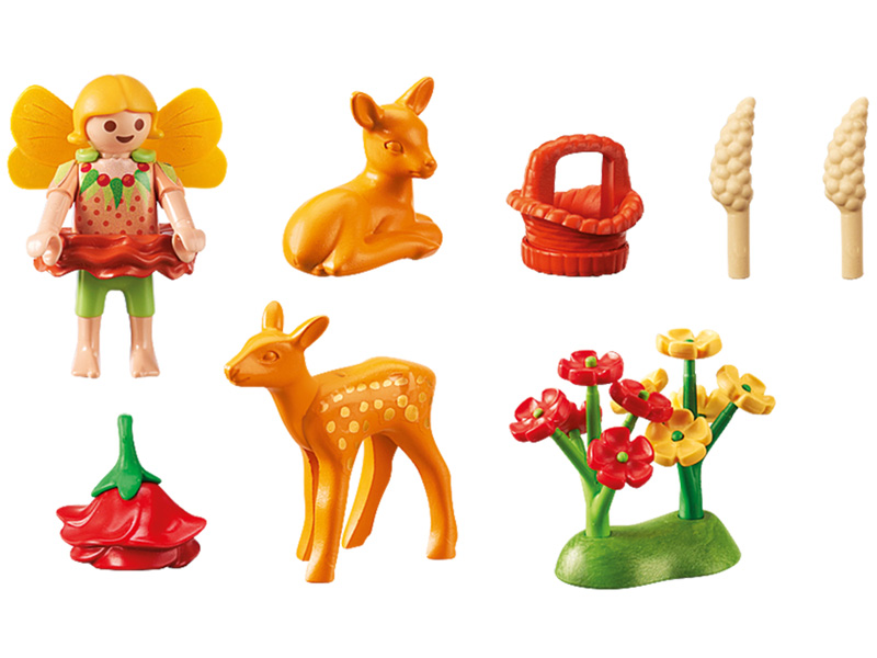 PLAYMOBIL-9141-Fairies-Fairy Girl with Fawns