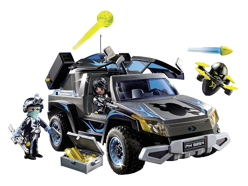 PLAYMOBIL-9254-TOP AGENTS-Dr. Drone's Pickup