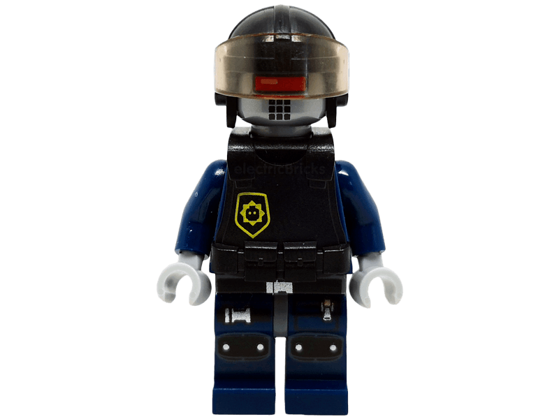 LEGO-tlm069-The LEGO Movie-Robo SWAT with Aviator Cap and Body Armor
