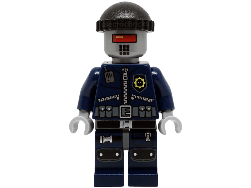 LEGO-tlm079-The LEGO Movie-Robo SWAT with Knit Cap