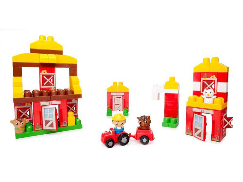 Mega Bloks Basics Cng27 Friendly Farm