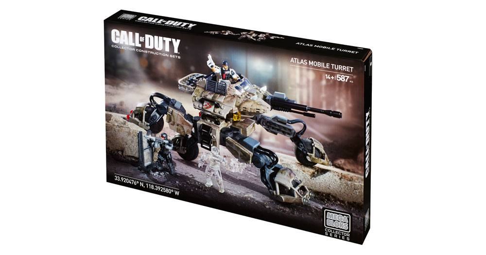 Mega Bloks-CNG85-Call Of Duty-Atlas Mobile Turret