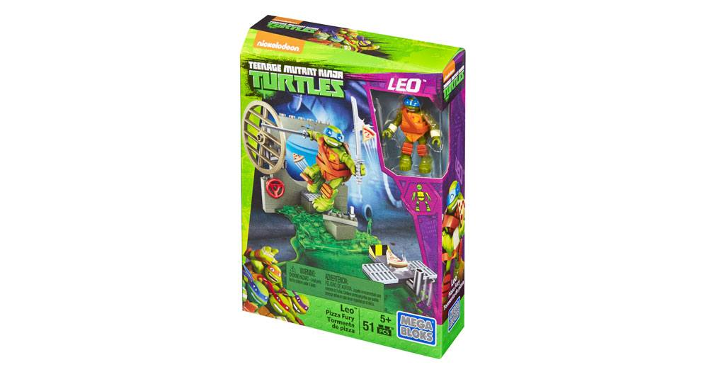 Mega Bloks-DMX34-Ninja Turtles-Pizza Fury